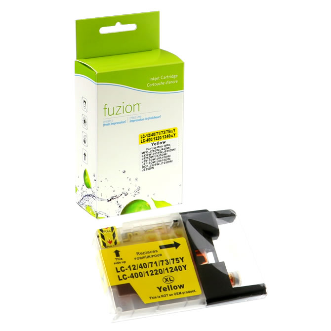Brother LC75 High Yield Inkjet - Yellow